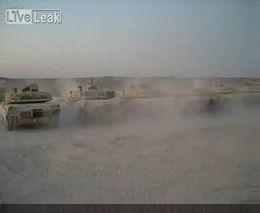 Стрельба танков (1.846 MB)