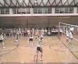 Волейболистка-акробатка
