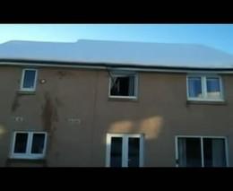 Почистил крышу от снега (3.422 MB)
