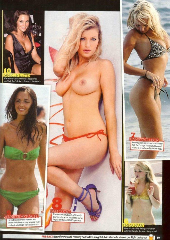 100 самых горячих девушек от журнала ZOO (18 фото)