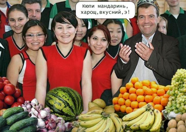 Медведев с девушками (15 фото)