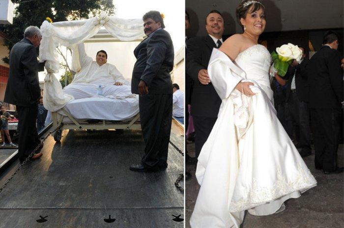 Фотографии со свадьбы самого толстого человека в мире (5 фото)