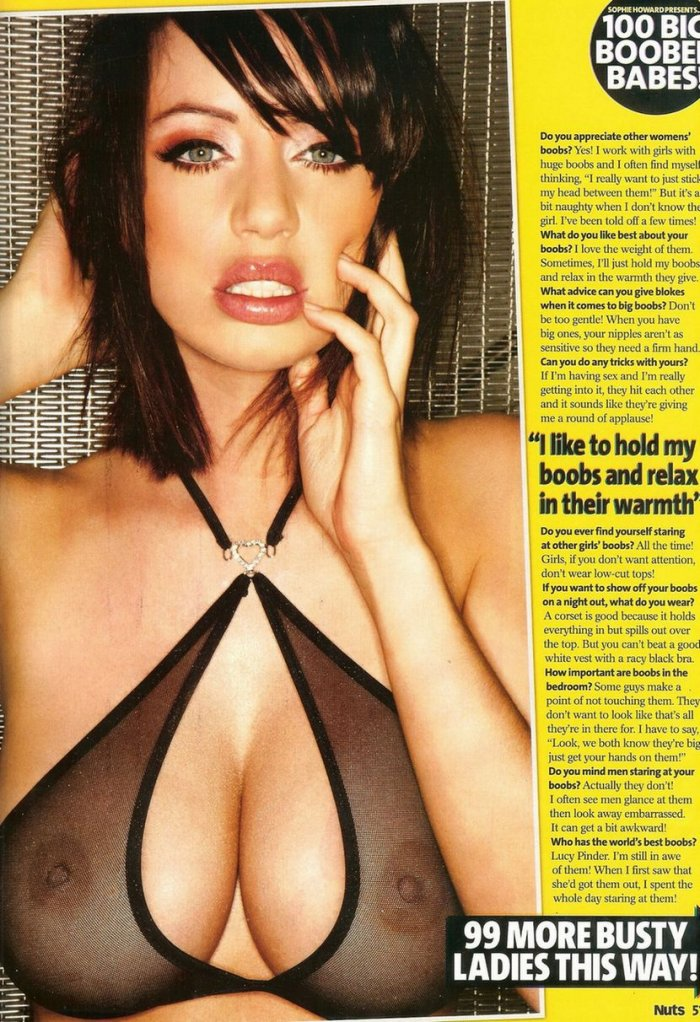 Sophie Howard � 100 ������� � ������� ������ �� ������� Nuts! (20 ����)