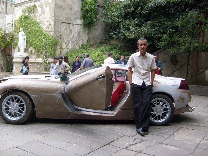 Машина своими руками (8 фото)