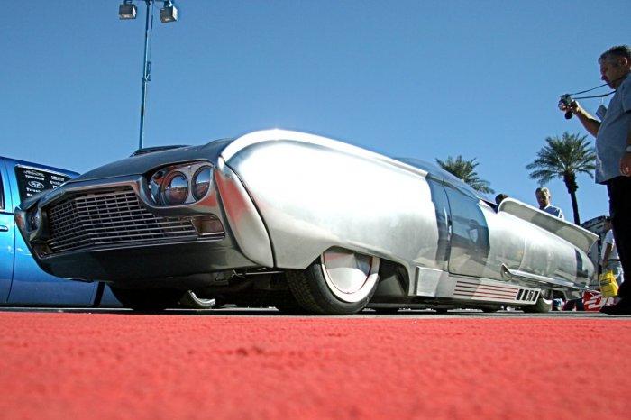 Космический автомобиль из 50-х (11 фото)