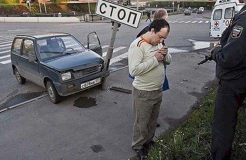 Необычные аварии (27 фото)