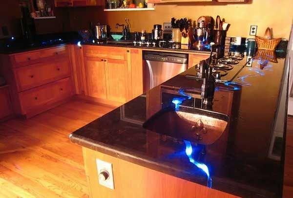 Река на кухне (15 фото)