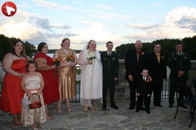 Невеста-красавица (16 фото)