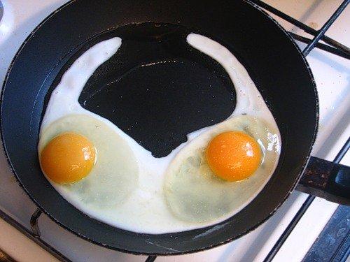 Яичный креатив (20 фото)