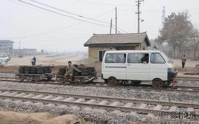 Китайский поезд (3 фото)