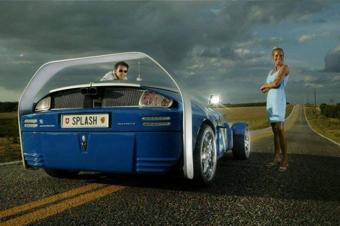 Автомобиль + катер (19 фото)