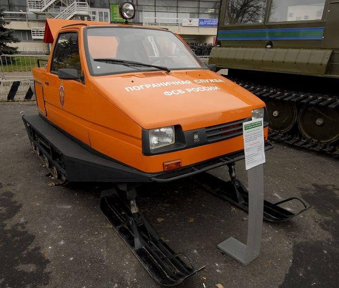 Российские вездеходы (9 фото)