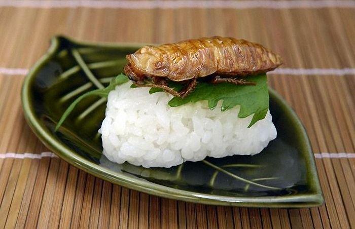 Экзотические суши (10 фото)