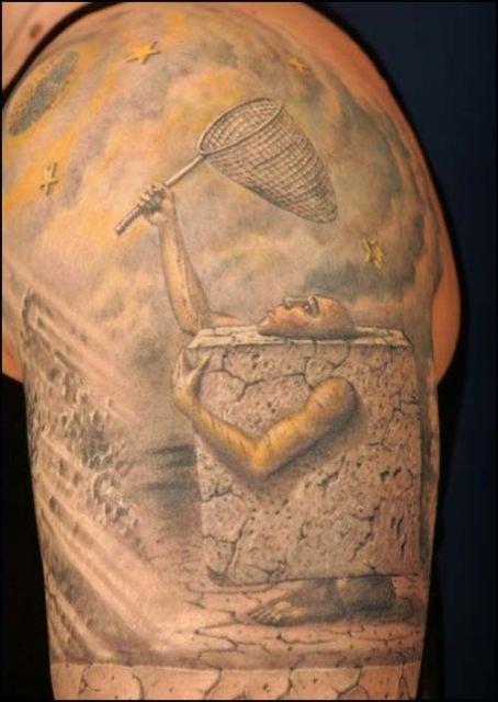 3D татуировки (10 фото)