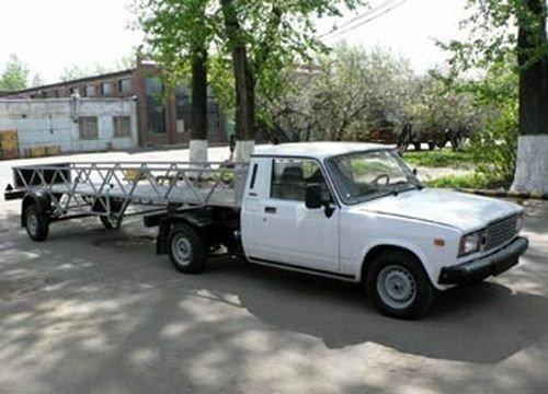 Модификации ТАЗа (9 фото)