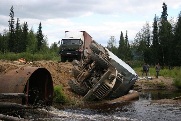 Действительно плохая дорога! (34 фото + текст)