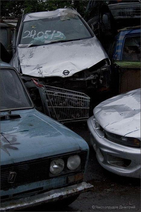 Свалка автомобилей (42 фото)