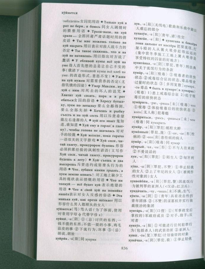 Словарь русского мата (4 фото)