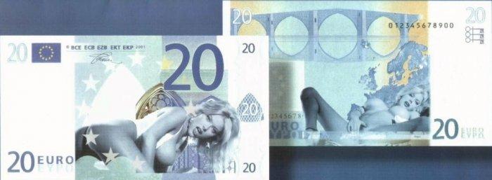 Новые банкноты Евро (7 фото)