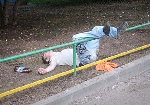 Пьяные люди:-) (13 фото)
