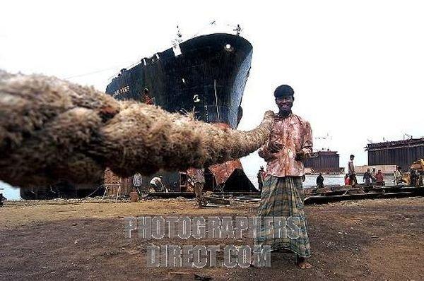 Там, где разделывают корабли (80 фото)