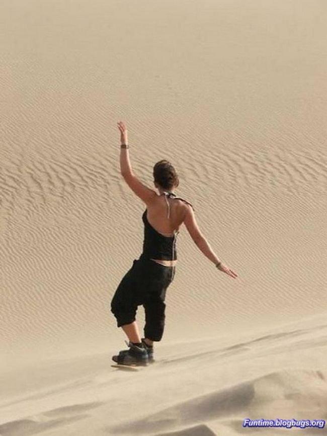 Оазис в пустыне (17 фото)