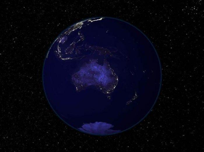 Красивейшие фотграфии нашей планеты из космоса! (6 фото)