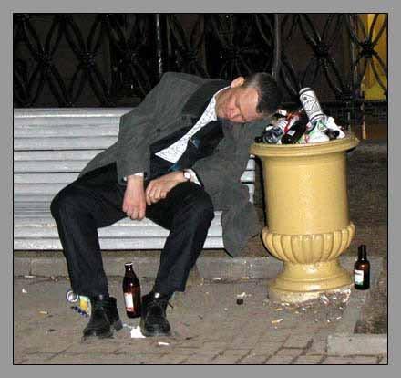 Приколы над пьяными людьми:-) (18 фото)