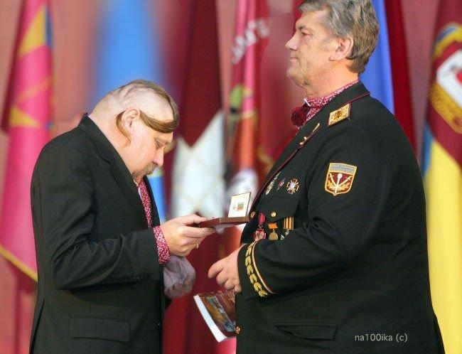 Фотожаба на Ющенко и казака:-) (20 фото)