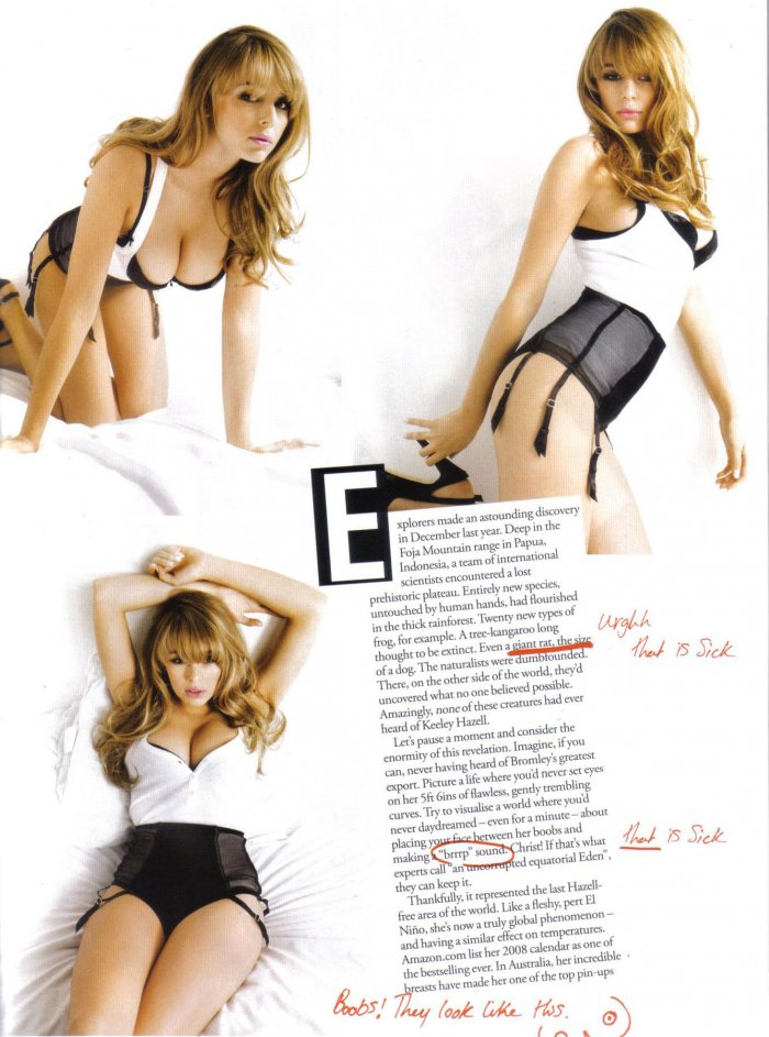 Keeley Hazell в FHM (11 фото)