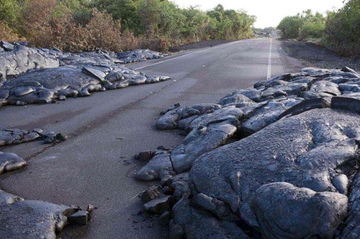 Извержение вулкана на Гавайах (9 фото)