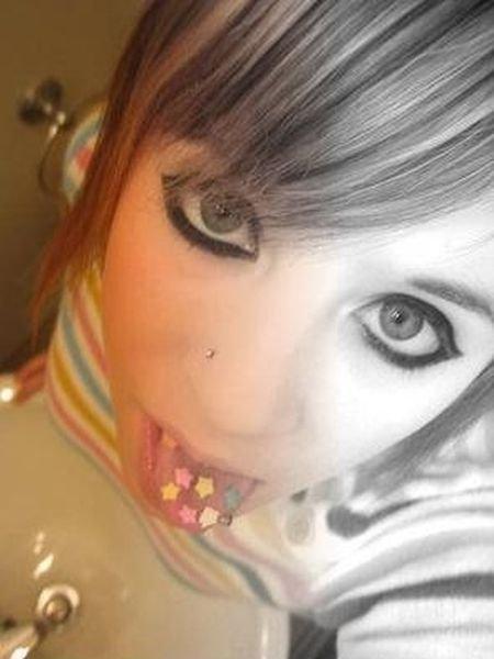 Эмо-девочки (59 фото)