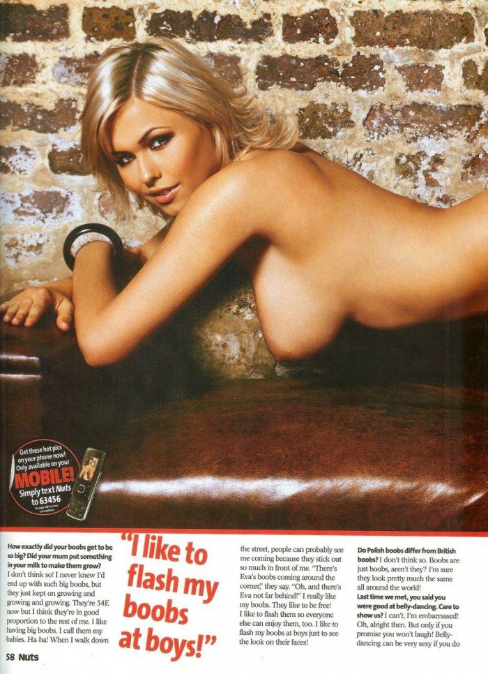 Eva Wyrwal в журнале Nuts (9 фото)