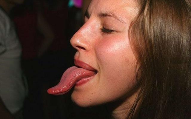 Языкастые люди (68 фото)