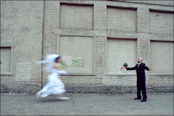 Креативная свадебная фотосессия (18 фото)