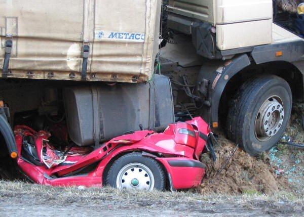 Жуткая авария в Польше (8 фото)
