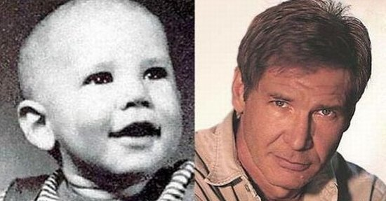 Как выглядели звезды в детстве (55 фото)