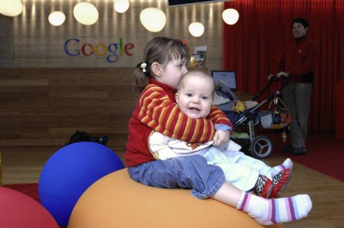 Офис Google в Цюрихе (50 фото)