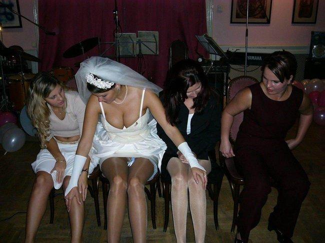 Откровенные фото невест (36 фото)