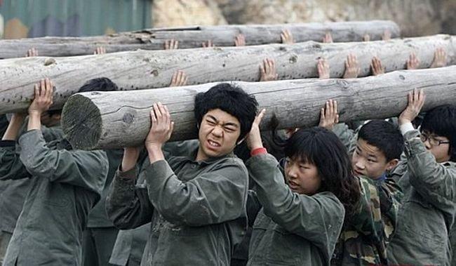 Поинерлагерь в Северной Корее (9 фото)
