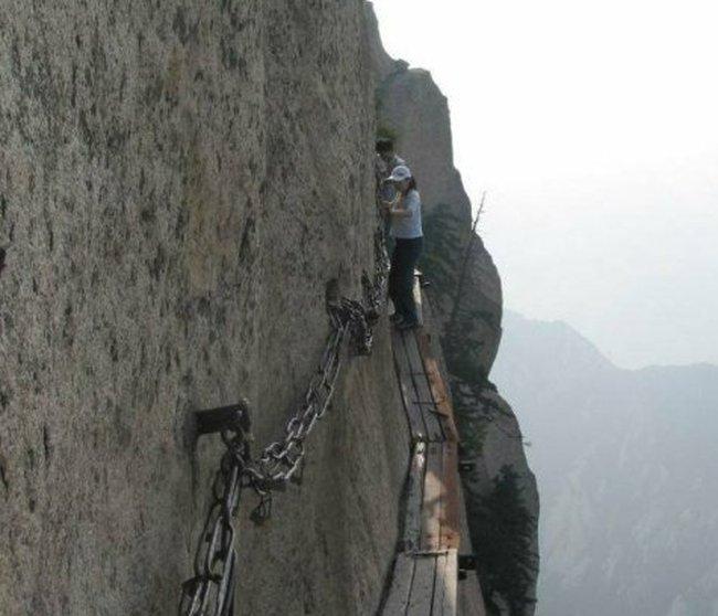Экстримальный отдых в Китае (33 фото)