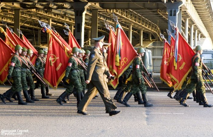 Репетиция парада победы (88 фото)