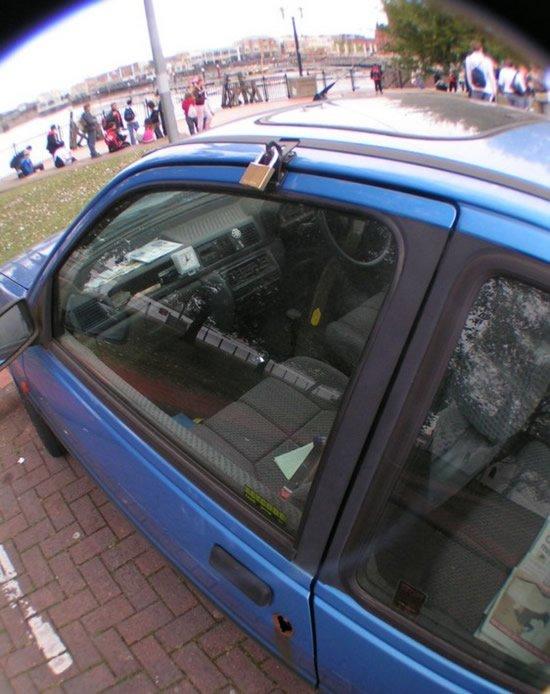 Самые современные охранные системы для авто:-) (5 фото)