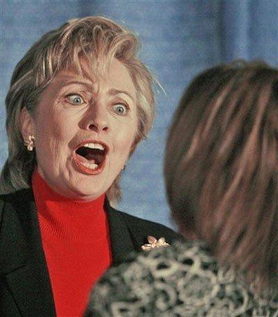 Подборка прикольных фоток Хиллари Клинтон (53 фото)