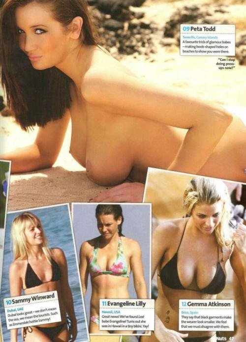50 самых сексуальных пляжных девушек (16 фото)