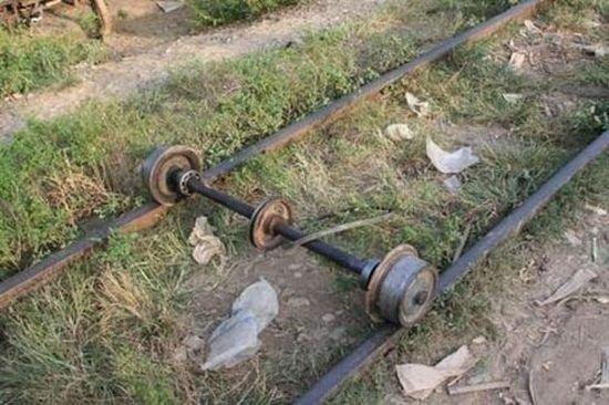 Железная дорога. Бюджетный вариант:-) (14 фото)