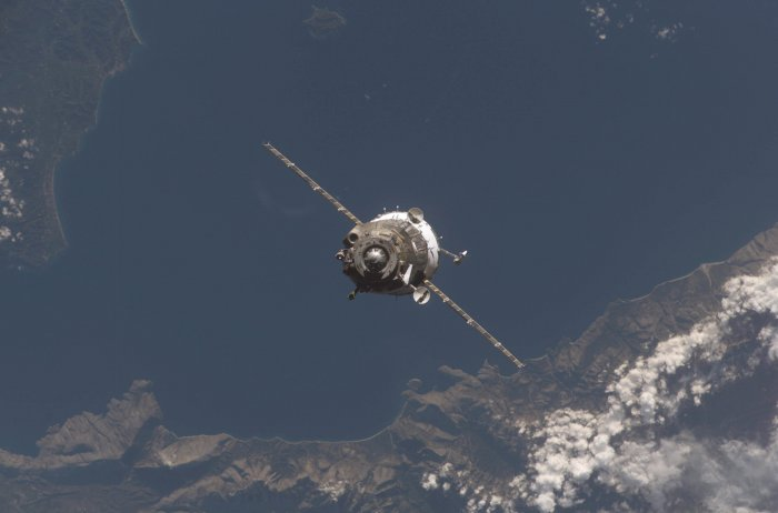 Фотографии с 16-й экспедиции на МКС (20 фото)