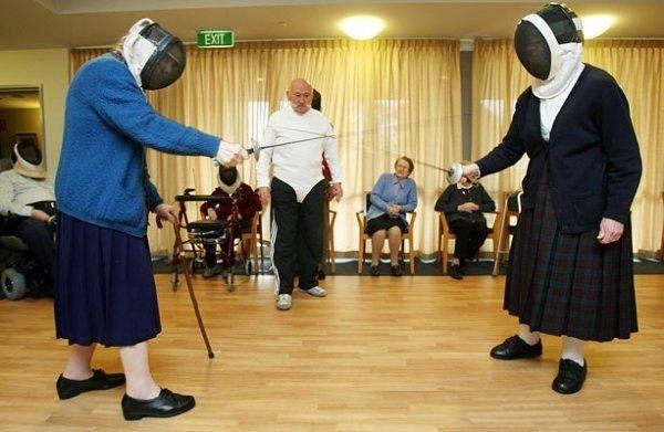 Как развлекаются старички (6 фото)