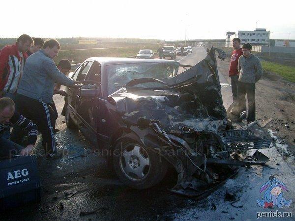 Страшная авария со слов очевидца (29 фото + текст)