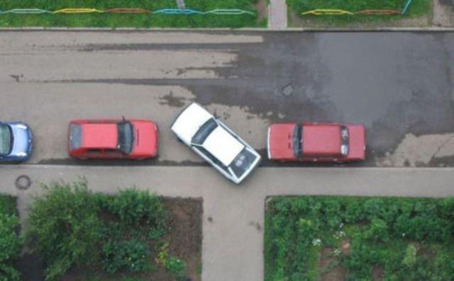 Парковщики - идиоты (24 фото)